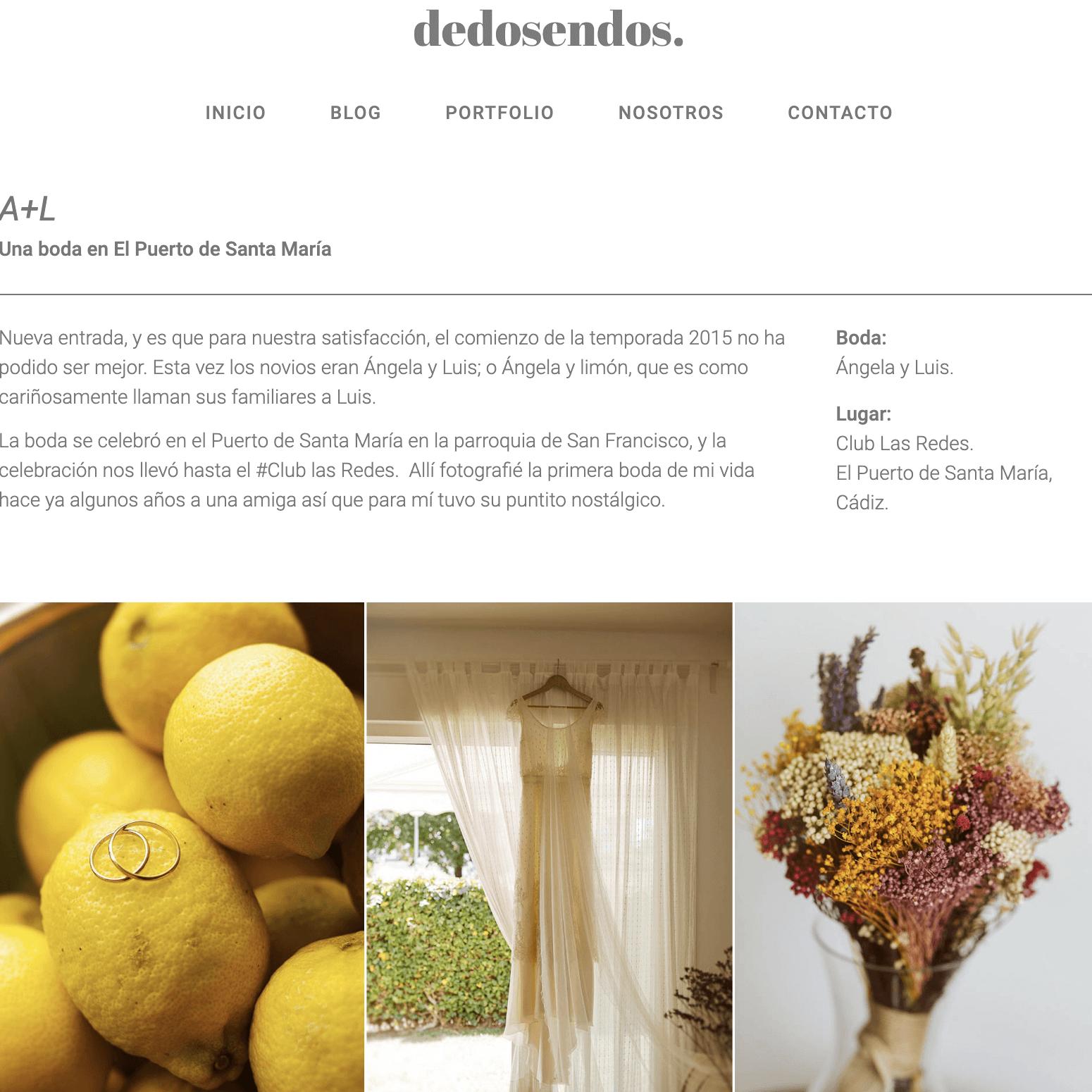 Desarrollo web para DeDosEnDos